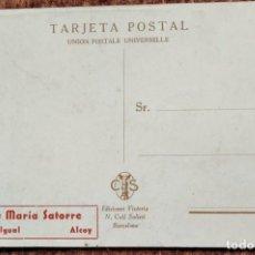 Cartes Postales: ANIS MARIA SATORRE - VICENTE IGUAL - ALCOY. Lote 215996090