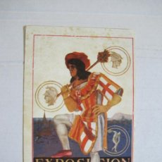 Postales: EXPOSICION INTERNACIONAL BARCELONA 1929-PUBLICIDAD-POSTAL ANTIGUA-VER FOTOS-(73.778). Lote 216507343
