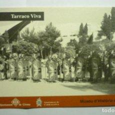 Postales: TARJETA POSTAL TARRACO VIVA TARRAGONA-DORSO PUBLICIDAD. Lote 216631115