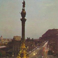 Cartes Postales: BARCELONA, MONUMENTO A CRISTOBAL COLÓN - EDITA IBERIA LINEAS AÉREAS - S/C. Lote 217471157