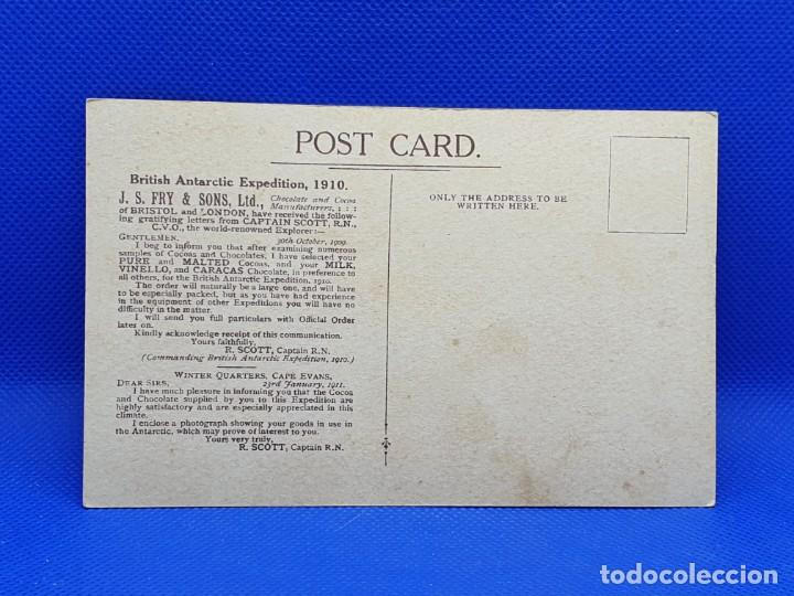 Postales: Postal Capitan Scott Fry´s Cocoa & chocolate - Foto 2 - 217782007