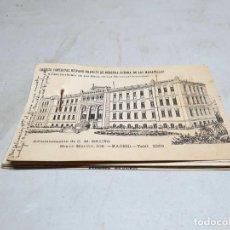 Postales: POSTAL ANTIGUA PUBLICITARIA MADRID. COLEGIO NUESTRA SEÑORA MARAVILLAS. AÑO 1915.. Lote 218427193