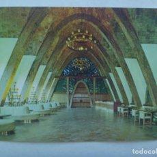 Postales: POSTAL PUBLICITARIA DE CAVAS CODORNIU : SALA DE RECEPCION PUIG Y CADAFALCH . 1971. Lote 219022356