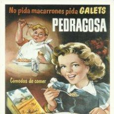 Postales: 2 TARJETAS POSTALES PUBLICITARIAS. Lote 219875565