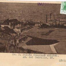 Postales: 1955 SOCIEDAD DE TIRO DE PICHÓN BARCELONA AVANCE DE LAS TIRADAS OFICIALES DEL 4 AL 13 DE JUNIO. Lote 220371357