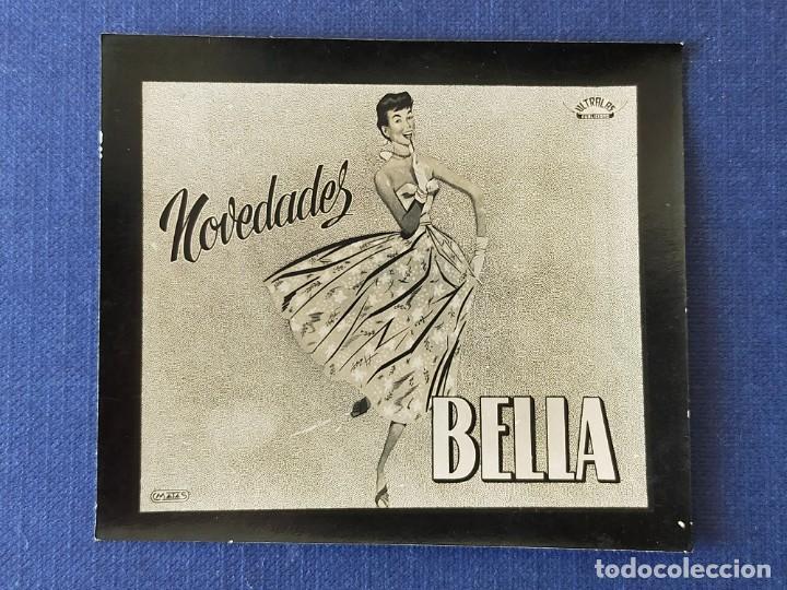 POSTALITA PUBLICITARIA CINE / FOTO FIJA: NOVEDADES BELLA - MATAS (Postales - Postales Temáticas - Publicitarias)