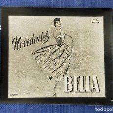 Postales: POSTALITA PUBLICITARIA CINE / FOTO FIJA: NOVEDADES BELLA - MATAS. Lote 220977495