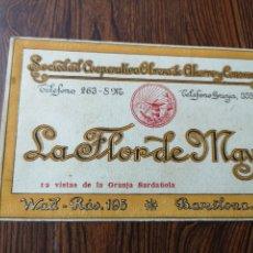 Postales: CI79. POSTAL PUBLICIDAD. LA FLOR DE MAYO. GRANJA SARDAÑOLA. BARCELONA. Lote 221251155