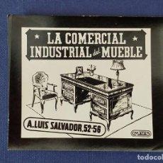 Postales: POSTALITA PUBLICITARIA CINE / FOTO FIJA: LA COMERCIAL, INDUSTRIAL DEL MUEBLE - MATAS. Lote 221486238