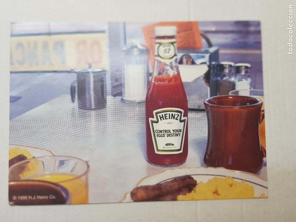 POSTAL ANTIGUA PUBLICIDAD TOMATE HEINZ 1999 (Postales - Postales Temáticas - Publicitarias)