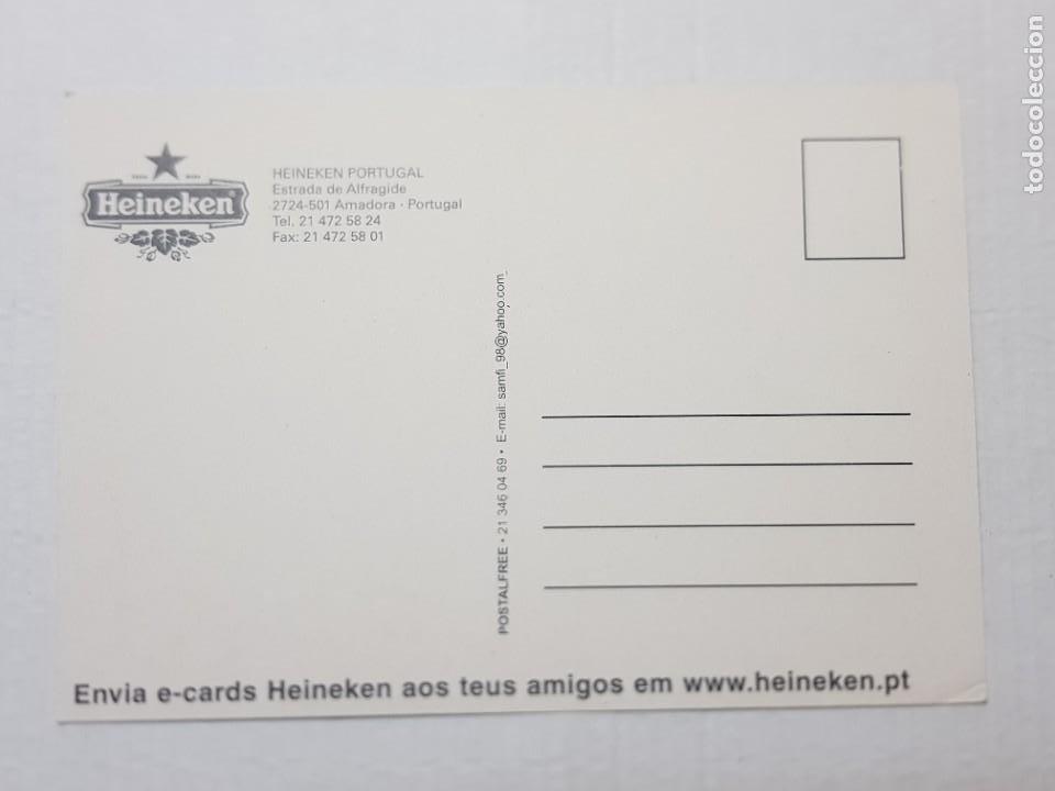Postales: Postal antigua Publicidad Cerveza Heineken - Foto 2 - 221656290