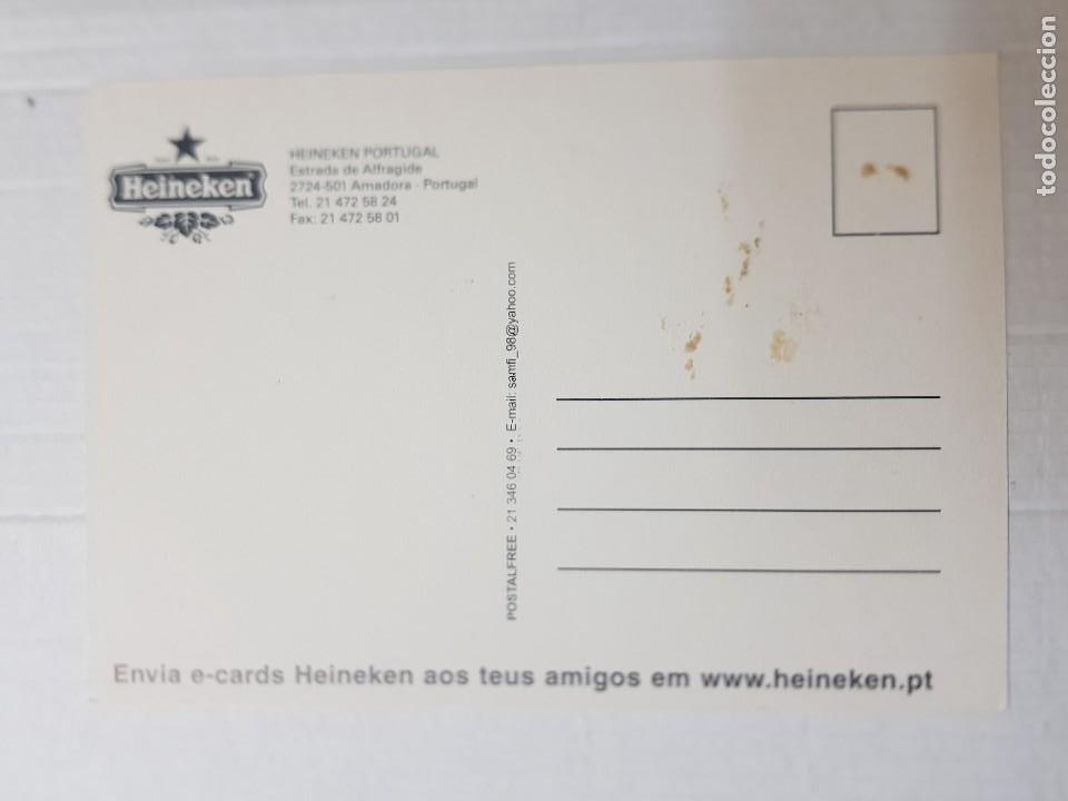 Postales: Postal antigua Publicidad Cerveza Heineken - Foto 2 - 221656313