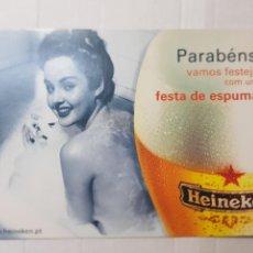 Postales: POSTAL ANTIGUA PUBLICIDAD CERVEZA HEINEKEN. Lote 221656313