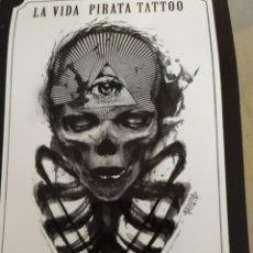 Postales: LA VIDA PIRATA TATTOO CIUTADELLA MENORCA. SIN CIRCULAR. Lote 222026048