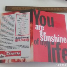 Postales: POSTAL YOU ARE THE SUNSHINE OF MY LIFE. MALBORO. BOOMERANG. AMSTERDAM. SIN CIRCULAR POST CARD. Lote 222037298