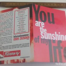 Postales: POSTAL YOU ARE THE SUNSHINE OF MY LIFE. MALBORO. BOOMERANG. AMSTERDAM. SIN CIRCULAR POST CARD. Lote 222037368