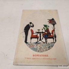 Postales: POSTAL SOMATOSE BAYER - TÓNICO, APERITIVO Y RECONSTITUYENTE. Lote 222058215