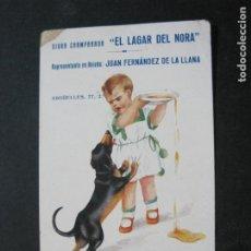 Postales: OVIEDO-SIDRA CHAMPANADA EL LAGAR DEL NORTA-POSTAL PUBLICIDAD ANTIGUA-(75.074). Lote 222075947