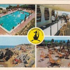 Postales: POSTAL CAMPING KANGURO. SAN POL DE MAR. BARCELONA (1972). Lote 222082242