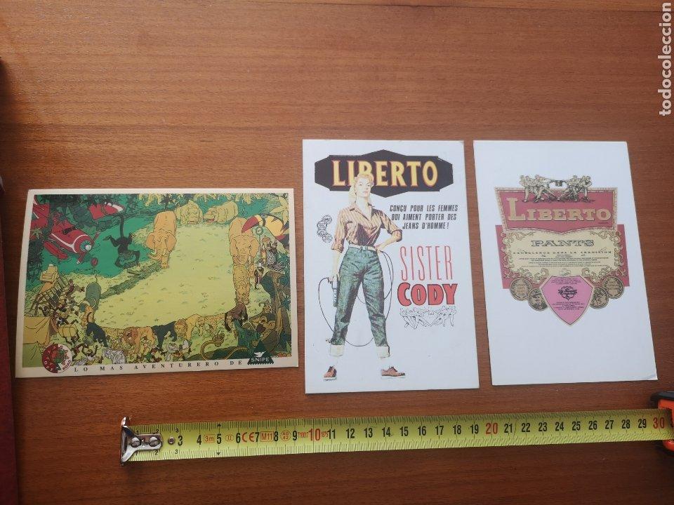 POSTALES LIBERTO Y SNIPE AÑOS 90 (Postales - Postales Temáticas - Publicitarias)