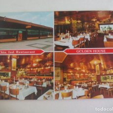 Postales: POSTAL RESTAURANTE CHINO GOLDEN HOUSE. HOLLAND. CHINESE RESTAURANT. 378 POST CARD. Lote 222677538
