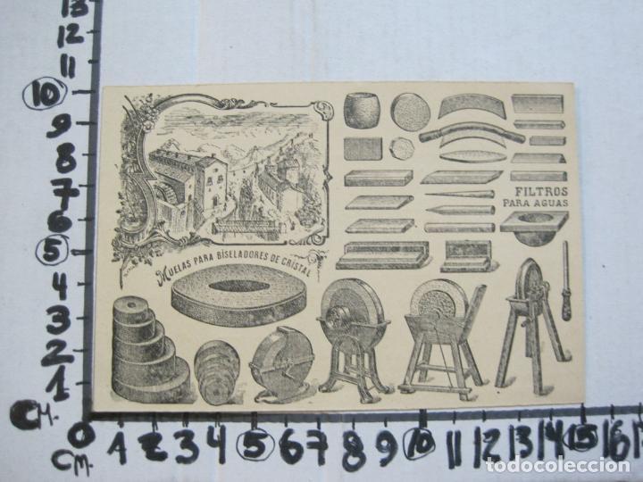 Postales: MANUFACTURA PIEDRAS DE AFILAR J.MESTRE-BARCELONA-PUBLICIDAD ANTIGUA-VER FOTOS-(75.288) - Foto 3 - 222703487