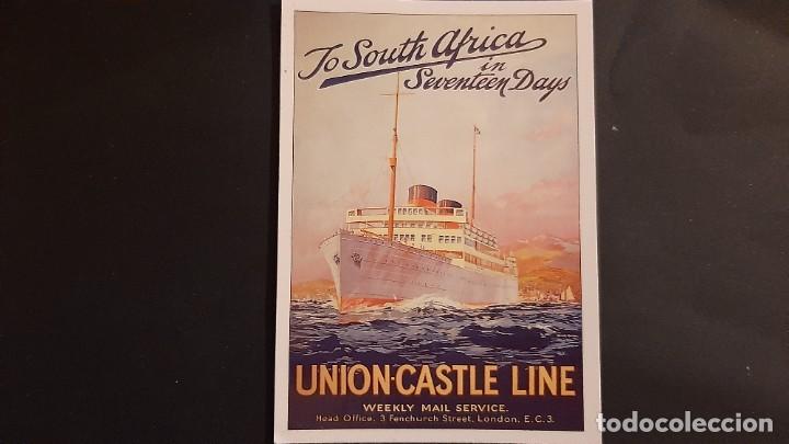 POSTAL PUBLICIDAD UNION CASTLE LINE P678 (Postales - Postales Temáticas - Publicitarias)