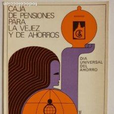 Cartes Postales: CAJA DE PENSIONES PARA LA VEJEZ Y DE AHORROS - LMX - PUBLI3. Lote 223400251