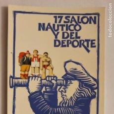 Postais: 17 SALÓN NÁUTICO INTERNACIONAL DE BARCELONA 1979 - LMX - PUBLI4. Lote 223403537