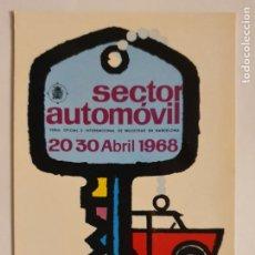 Cartes Postales: FERIA SECTOR AUTOMÓVIL - 1968 - LMX - PUBLI4. Lote 223417776