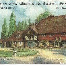 Postales: POSTAL RESTAURANT *JOLLY GARDENER* - MAIDENS GREEN, WINKFIELD, BERKSHIRE. Lote 223860763