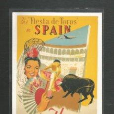 Cartes Postales: POSTAL SIN CIRCULAR PUBLICITARIA - LA AVIACION CIVIL 5508 - IBERIA - COLLECTIONS AFFICE - SAN SEBAS. Lote 224996800