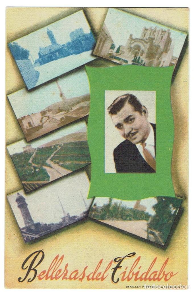POSTAL PUBLICITARIA, BELLEZAS DEL TIBIDABO, BARCELONA, SIN CIRCULAR (Postales - Postales Temáticas - Publicitarias)