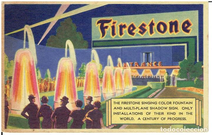 Postales: POSTAL PUBLICITARIA, FIRESTONE, SINGING COLOR FOUNTAIN, SIN CIRCULAR - Foto 1 - 226122330