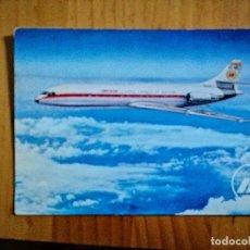Postales: POSTAL - IBERIA - LINES AÉREAS INTERNACIONALES DE ESPAÑA - CARAVELLE X-R. Lote 226397585