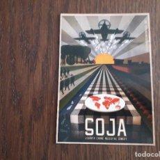 Cartes Postales: POSTAL DE PUBLICIDAD, VETERINARIOS SIN FRONTERAS, COMUNIDAD DE MADRID. SOJA.. Lote 227092725