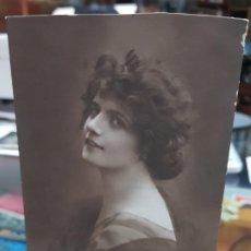 Postales: ANTIGUA POSTAL ROMANTICA PUBLICIDAD CHOCOLATES DOS GLOBOS ZARAGOZA 1930. Lote 228136286