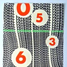 Postales: TARJETA POSTAL LOTERIA NACIONAL SERIE I , Nº 2, JOSÉ L. ALVAREZ, 2DO PREMIO, 1977, SIN CIRCULAR. Lote 230858520