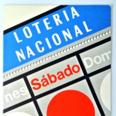Postales: TARJETA POSTAL LOTERIA NACIONAL SERIE I , Nº 4, JULIO ALONSO, PREMIO CONCURSO 1977, SIN CIRCULAR. Lote 230861525