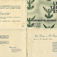 Postales: BLOCK DE 10 POSTALES LA UNIÓN Y EL FENIX ESPAÑOL. SEGUROS: MADRID, BILBAO, VALENCIA, SEVILLA, ETC.. Lote 232985026