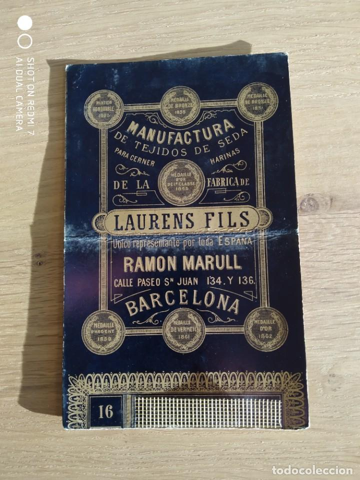 TARJETA PUBLICITARIA LAURENS FILS (Postales - Postales Temáticas - Publicitarias)