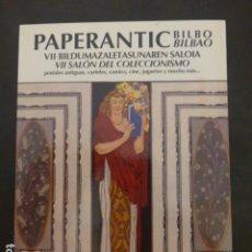 Postales: PAPERANTIC BILBAO 2012 SALON DEL COLECCIONISMO POSTAL. Lote 235228470