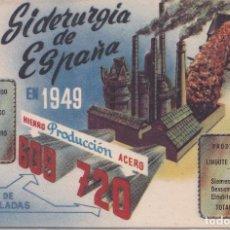 Postales: P.G.- I.N.E. SIDERURGIA DE ESPAÑA AÑO 1949. Lote 236067795
