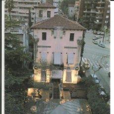 Postales: POSTAL RESTAURANTE AZULETE, VIA AUGUSTA DE BARCELONA, AÑOS 70. Lote 238421275