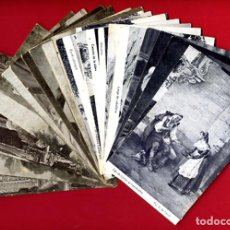 Postales: LOTE 25 POSTALES ILUSTRADAS CON PUBLICIDAD CHOCOLATES AMATLLER BARCELONA ORIGINALES L25. Lote 239673615
