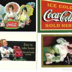 Postales: COC-COLA LOTE DE 16 POSTALES. Lote 239966180