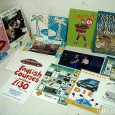 Postales: 21X POSTALES-PUBLICITARIAS 80S ¡NUEVAS¡¡EL SALER,LEVIS,H&M,WOLKSWAGEN,CAFE HABAN,GAP,TANKERAY-LOTE. Lote 240180720