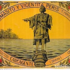 Cartoline: POSTAL * ORANGES TOMASITO Y VICENTITA PERIS - CARCAGENTE * AÑO 1996. Lote 241037860