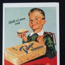 Postales: POSTAL DE PUBLICIDAD TULIPAN LEER DESCRIPCION. Lote 243861325