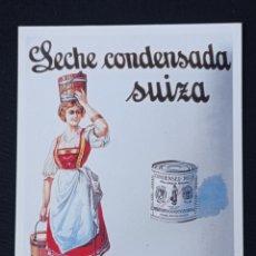 Postales: POSTAL DE PUBLICIDAD LA LECHERA LEER DESCRIPCION. Lote 243865985
